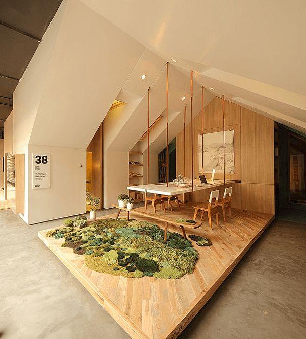 ゴロゴロしてみたい!部屋が草原や森のようになるラグ – Rugs Become Tactile Grasslands | STYLE4 Design