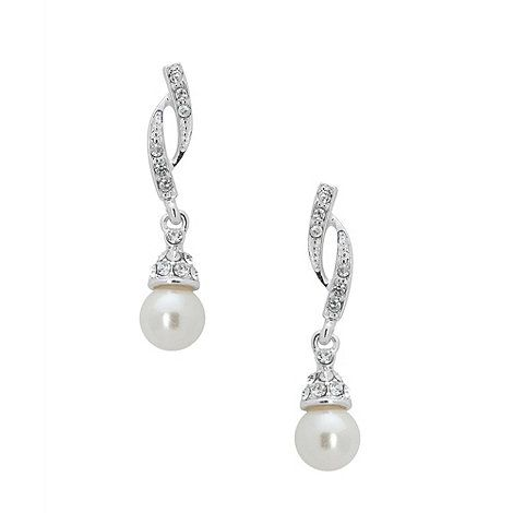 Jon Richard Grace pearl earring- at Debenhams.com. These are GORGOUS! Question is....bridesmaid or bride??