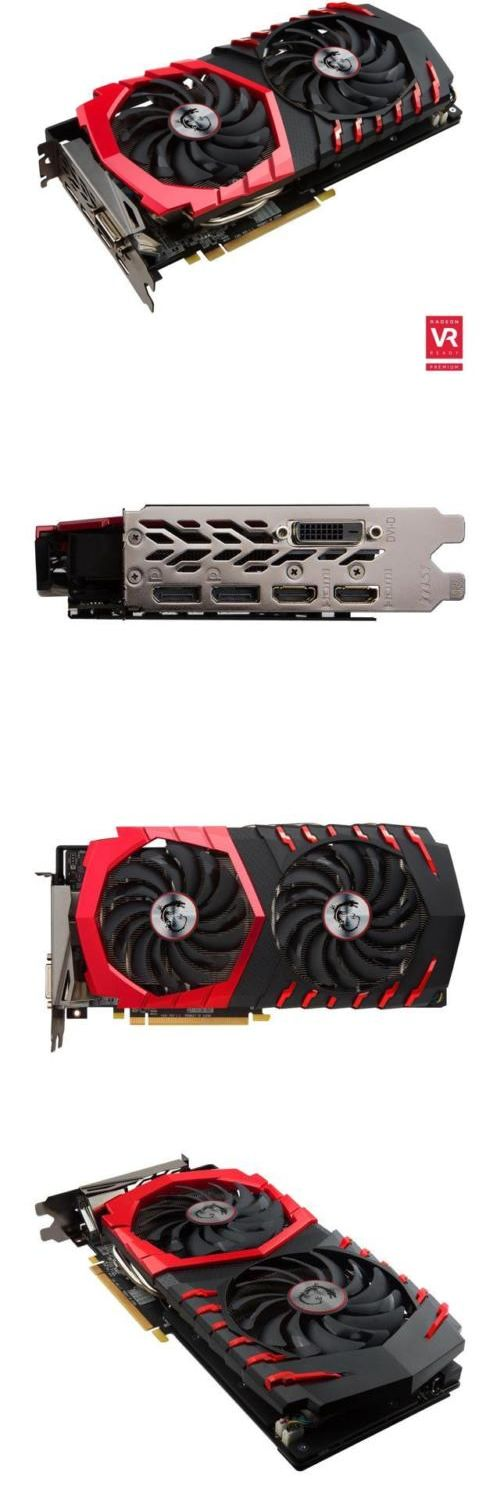 computer parts: Msi Radeon Rx 480 Directx 12 Rx 480 Gaming X 8G 8Gb 256-Bit Gddr5 Pci Express 3. BUY IT NOW ONLY: $244.99