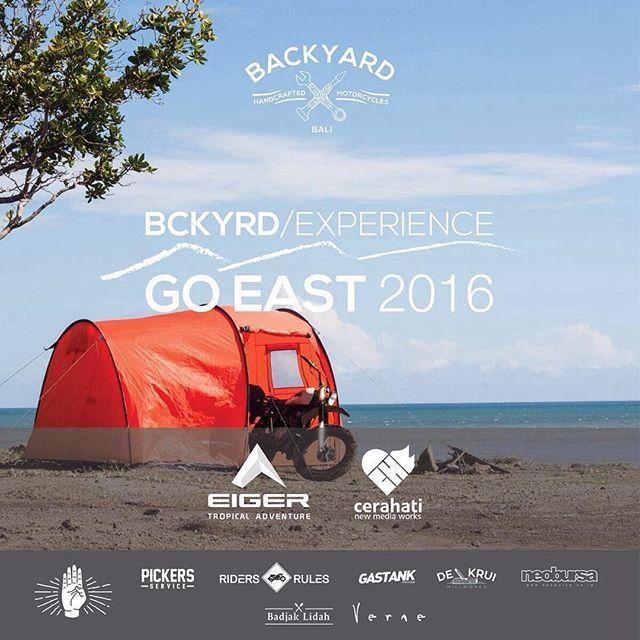 God luck and good speed!  #VerneIndonesia #VerneLeatherworks #verneleather #bckyrdcustoms #bckyrdcustoms #backyardcustoms #BCKYRDexperience2016 #BCKYRDexperienceGOEAST #BCKYRDFASTFWD2016
