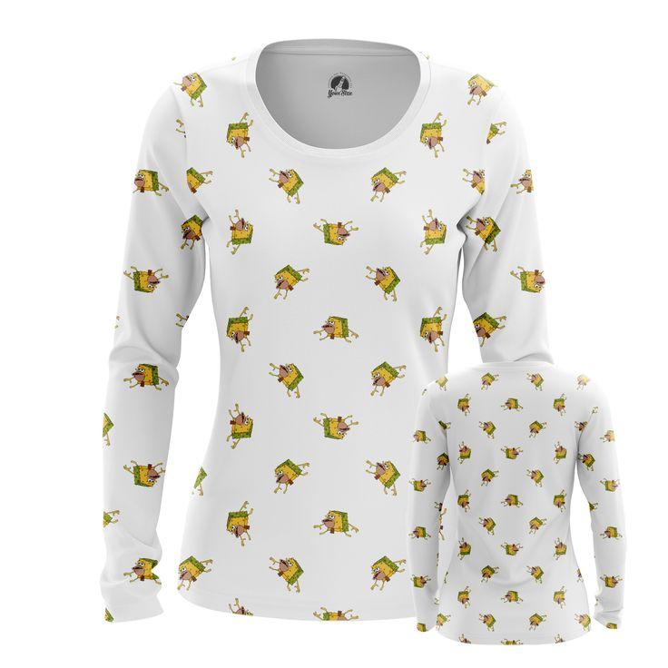 awesome Girls Longsleeve Primitive Sponge Internet Humor Sponge Bob Merchandise Check more at https://idolstore.net/shop/apparels/girls-longsleeve-primitive-sponge-internet-humor-sponge-bob-merchandise/