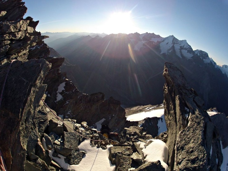 Fantastic view from Weisshorn