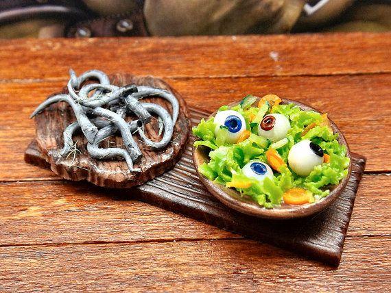 Miniatura cibo casa delle bambole code di topo con di PiccoliSpazi
