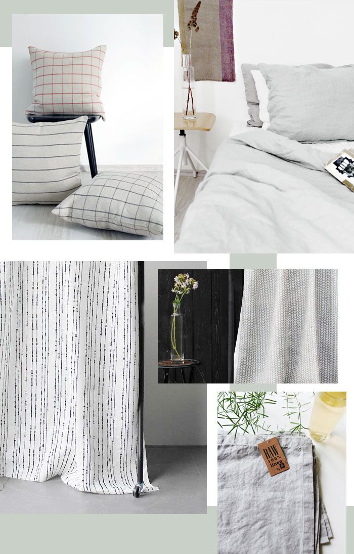 Bloesem living | spotlight: Ada and Ina natural linen