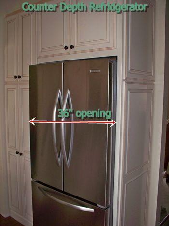 Deluxe Counter Depth Refrigerator
