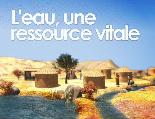 L'eau, une ressource vitale à protéger et à partager Source http://education.francetv.fr/infographie/l-eau-entre-guerre-et-paix-o28416