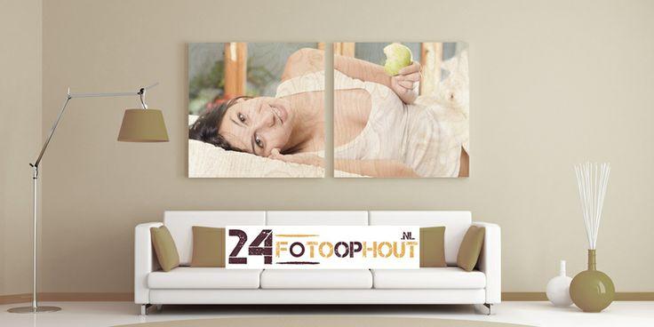Prachtig voorbeeld van een leuke foto geprint op hout. www.24fotoophout.nl