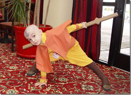 Aang from Avatar The Last Airbender #avatar #cosplay