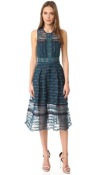 Jonathan Simkhai Миди-платье с комбинированной вышивкой