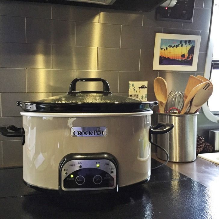 The Full Information To RV Crock-Pot Cooking