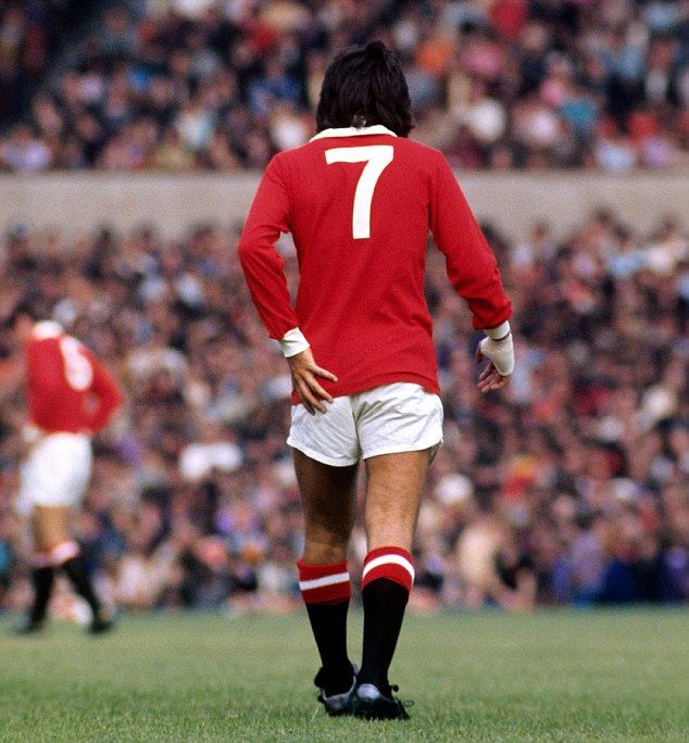 Legend George Best helped make No 7 shirt iconic at Manchester United