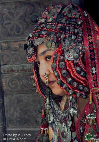 Uzbekistan   Karakalpak woman   ©OrexCa; photo by V Jirnov