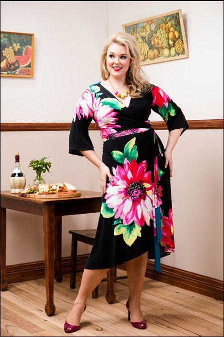 Sophia Wrap Dress - Gerbera http://sprinkleemporium.bigcartel.com/product/sophia-wrap-dress