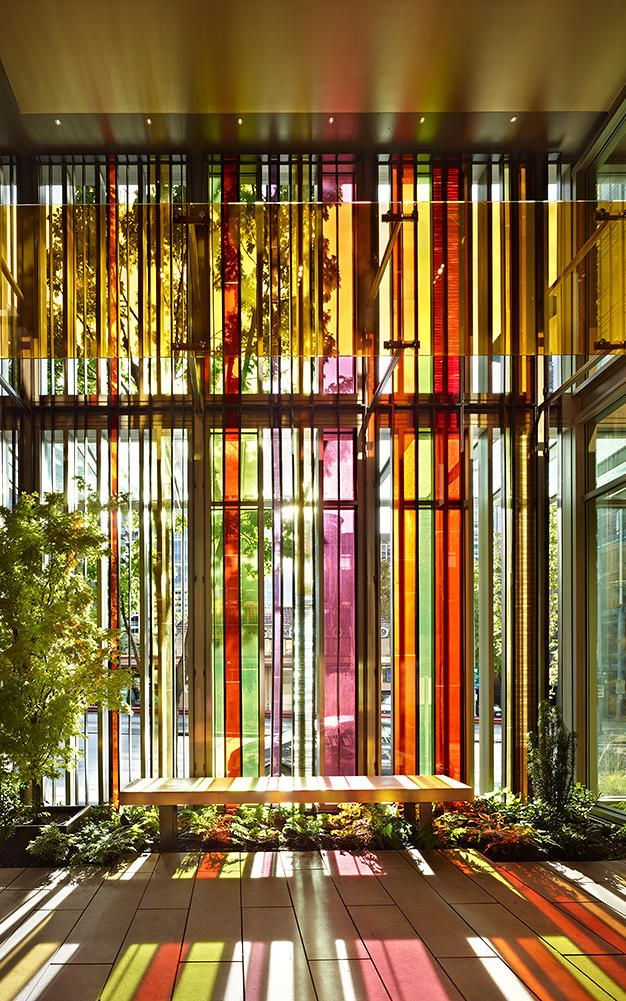 Seattle Church Gets A Bright, Modern Twist On Stained Glass Windows | Co.Design | business + design