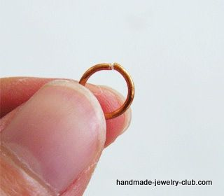 Lots of Free Jewelry Making Tutorials & Lessons: FREE How to Make Jump Rings Jewelry Making Tutorial