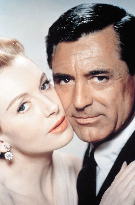 Cary Grant & Deborah Kerr in An Affair to Remember. Great shot of her beautiful green and his big brown eyes:)
