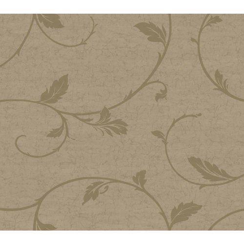 York Wallcoverings WW4460SMP West Wind Leaf Scroll 8-Inch x 10-Inch Memo Sample Wallpaper, Cafe Brown/Dark Taupe York Wallcoverings,http://www.amazon.com/dp/B00FHZ46BM/ref=cm_sw_r_pi_dp_FC8utb0TZSAV0129
