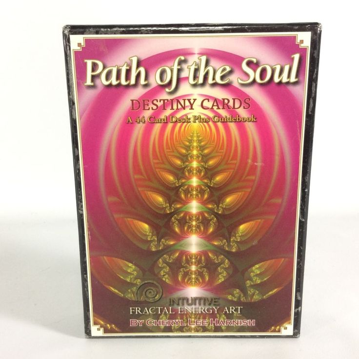 Path of The Soul Destiny Cards Fractal Energy Cheryl Lee Harnish No Guide Book