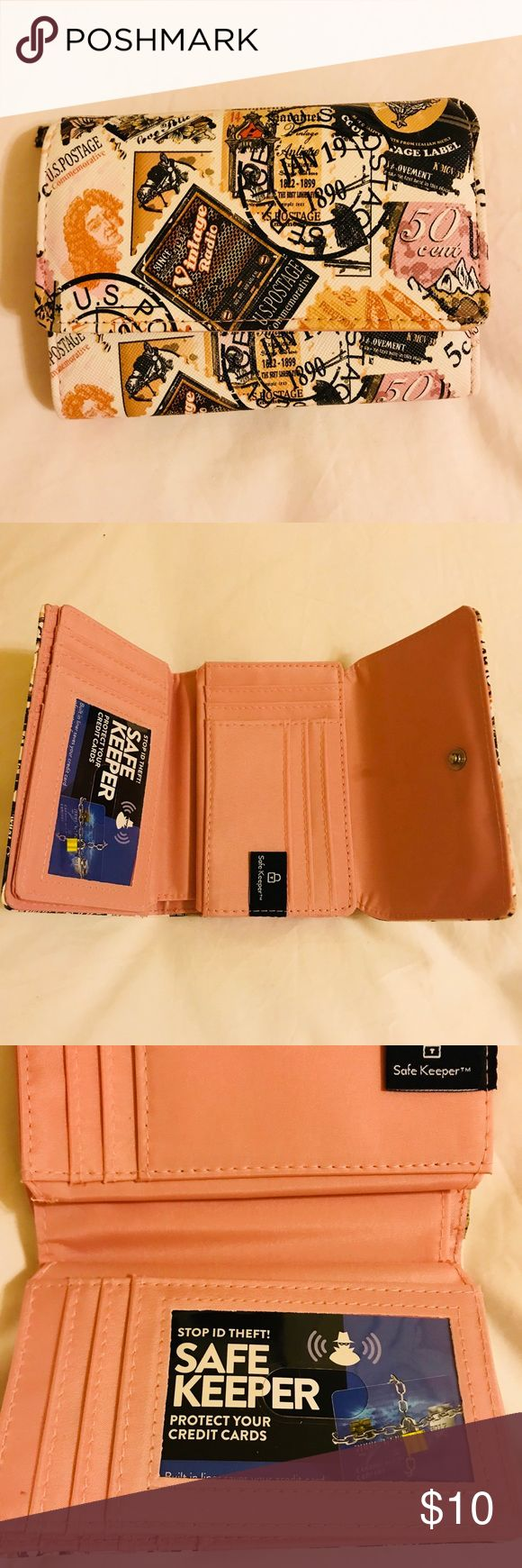 Women's Wallet - Safe Keeper Wallet Brand New Women's Wallet - Safe Keeper - Built in liner protects your credit card information from scanner theft Bags Wallets