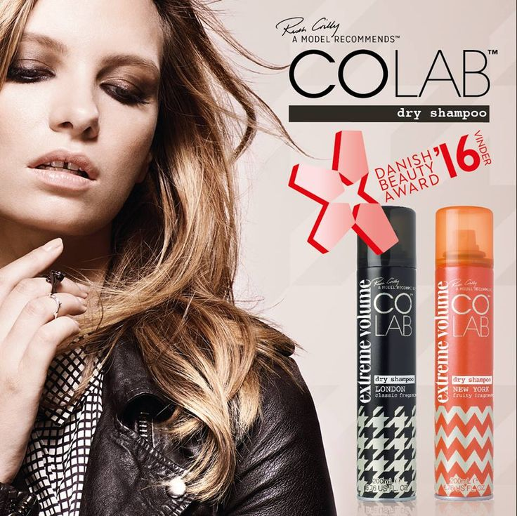 Just in case you missed this... COLAB Extreme Volume won at the Danish Beauty Award 2016 for Best Hairstyling Product  #Winning #COLAB A Model Recommends Nor Cosmetics as