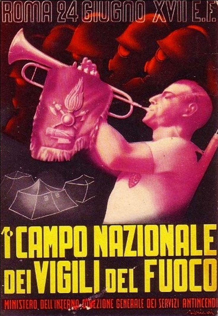 I Campo nazionale vigili del fuoco, 1939. The Vigili Del Fuoco, literally the Firewatchers, (CNVVF, National Fire-watchers' Corps) is Italy's fire and rescue service.