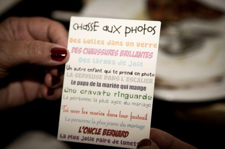 challenge photo - jeu mariage