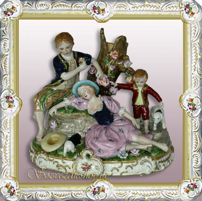 In 1745 was created first russian porcelain manufacturing -Imperial porcelain plant.