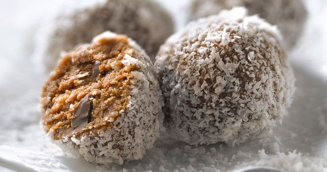 Nyttiga chokladbollar utan socker och smör