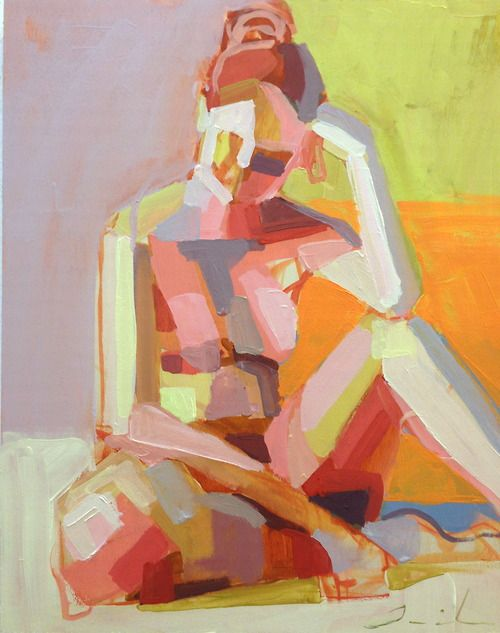 Teil Duncan nude painting