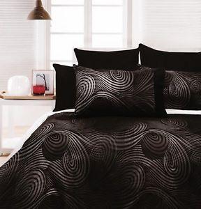 Gothic Bedding Sets Swirls Quilt Doona Duvet Cover Set