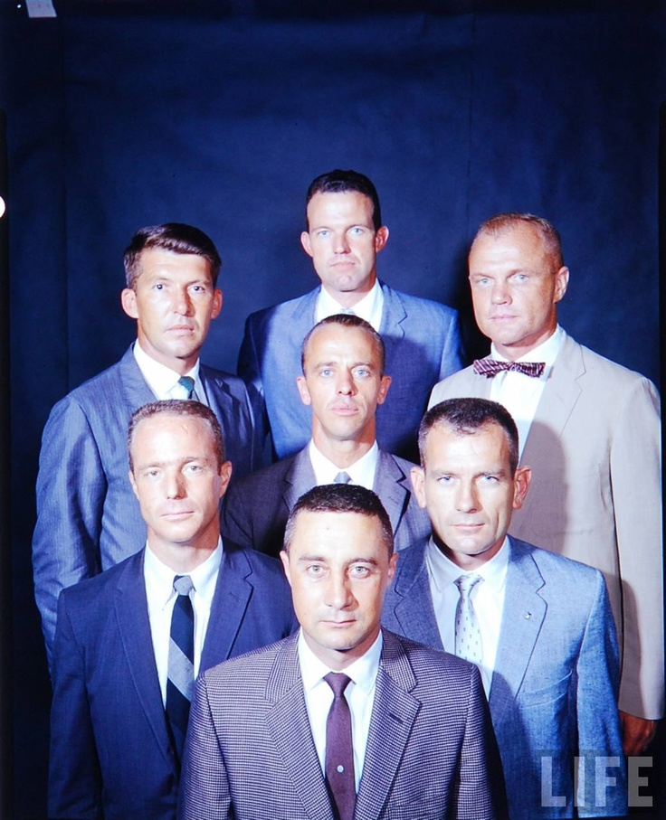 Mercury Seven: The original 7 US astronauts.