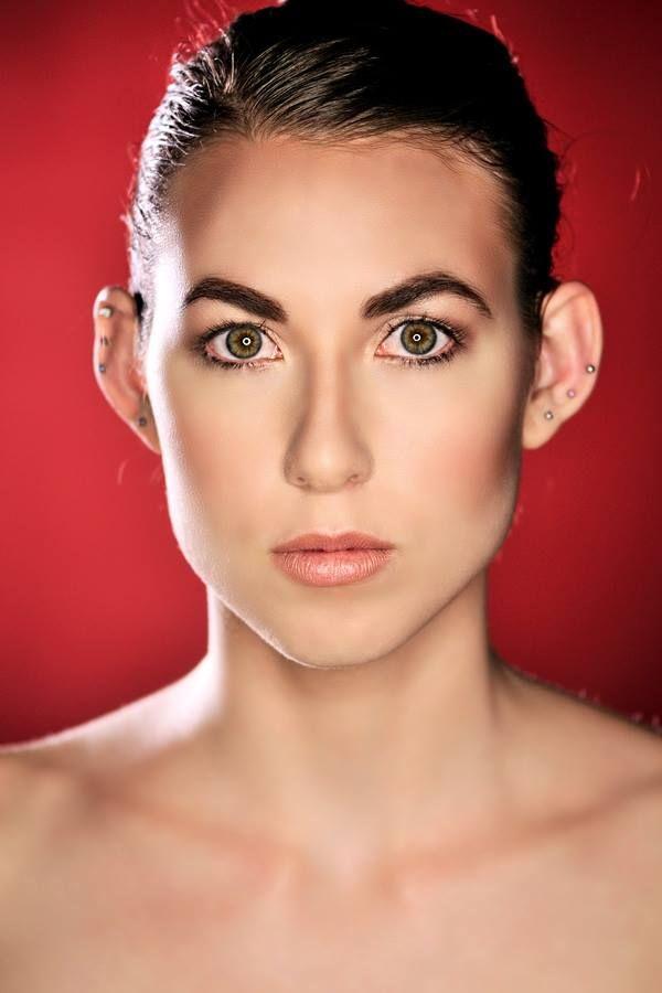 Nude make-up look. Photographer: Gerry Pelser, Model: Rebecca Joy Stewart, Hair and Make-up: Kirled Lash