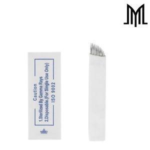 a agujas microblading flexible manual para maquillaje permanente de cejas hoja spmu cf