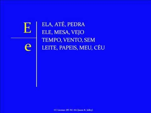 Jump Start Brazilian Portuguese - Lesson 1 - Letters and Sounds