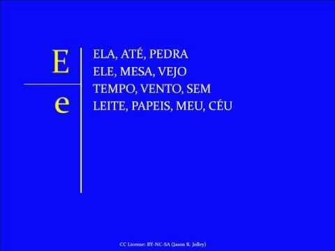 Jump Start Brazilian Portuguese - Lesson 1 - Letters and Sounds