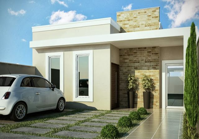 Decor Salteado - Blog de Decoração | Design | Arquitetura | Paisagismo: Fachadas de Casas Modernas – Casas sem telhado
