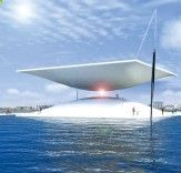This Gigantic Solar Hourglass Could Power 1,000 Danish Homes - Argentina-based designer Santiago Muros Cortés just unveiled plans for a gigantic solar energy generating hourglass that could produce enough electricity for 1,000 Danish homes while serving as a visual reminder that theres still time to stop climate change - if we act now.