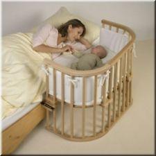 Tobi Babybay ORIGINAL: Babybett ORIGINAL Buche natur lackiert