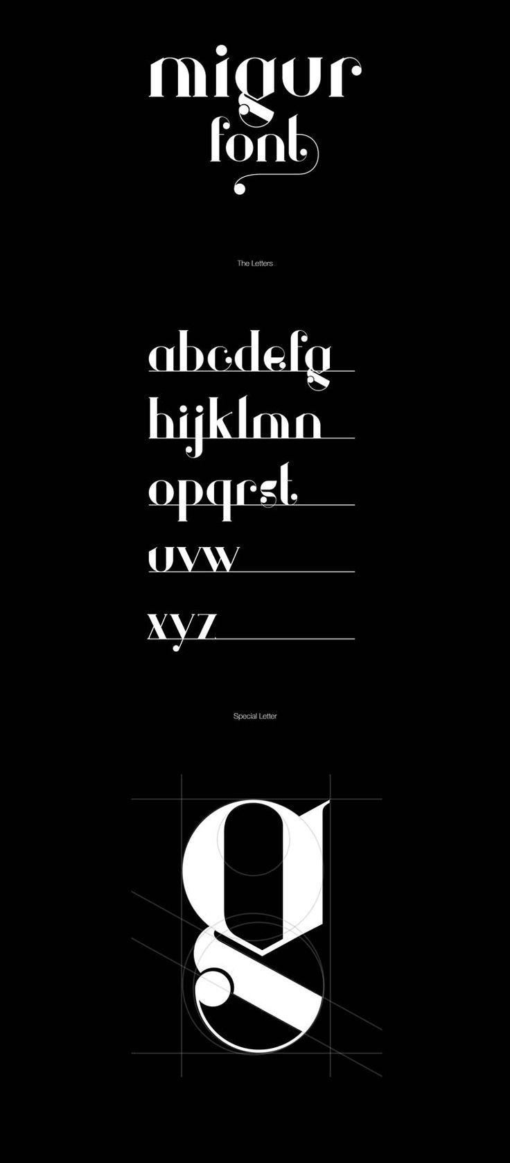 Hello les amis, nous continuons notre chasse aux belles typographies gratuites, et aujourd'hui je vous propose de découvrir une création du designer Wassim Awadallah. Cette nouvelle typo que vous allez pouvoir télécharger et utiliser dans vos projets c'est Migur, une serif font avec de belles courbes et de belles lettres. Télécharger cette typographie
