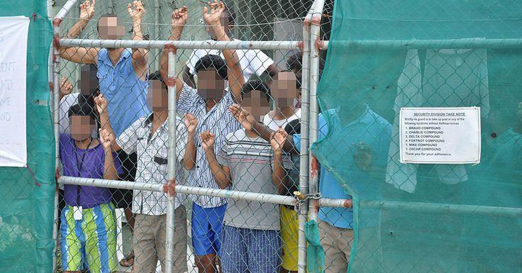 U.S. Begins 'Extreme Vetting' At Australian Refugee Detention Centers