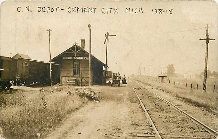 Cement City Michigan Cement Plant : Best images about th century railroad pictures on