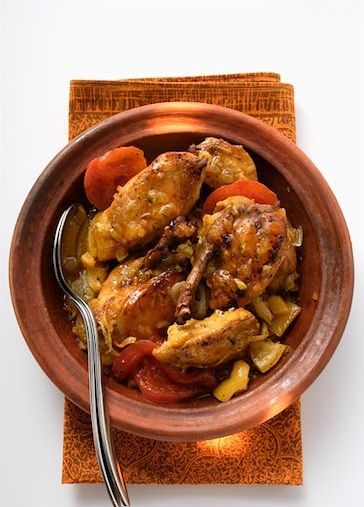 Simple African Chicken Stew (with a backdrop of the Serengeti)