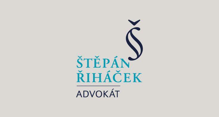 Mgr. Štěpán Řiháček Advokát, Brno Logotyp (2014) The lawyer, Logotype