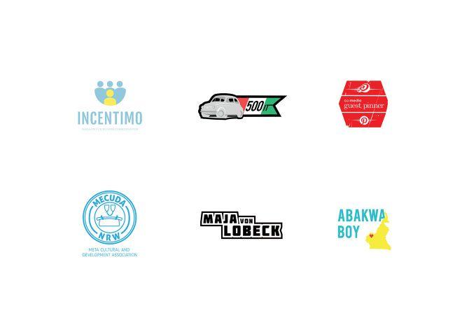 Some of my many logo design works - DANIEL TEUCHERT - Design & Conception