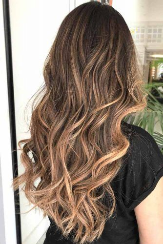 47 Highlighted Hair For Brunettes Hairstyles Pinterest Highlights And Styles