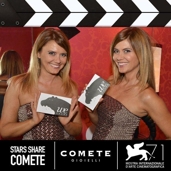 Laura e Silvia Squizzato  #CometeGioielli #Venezia71
