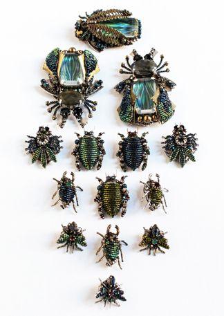 MIRIAM HASKELL Bug Pins