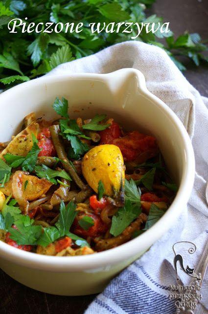 Kulinarne przygody Gatity: Jesienne pieczone warzywa
