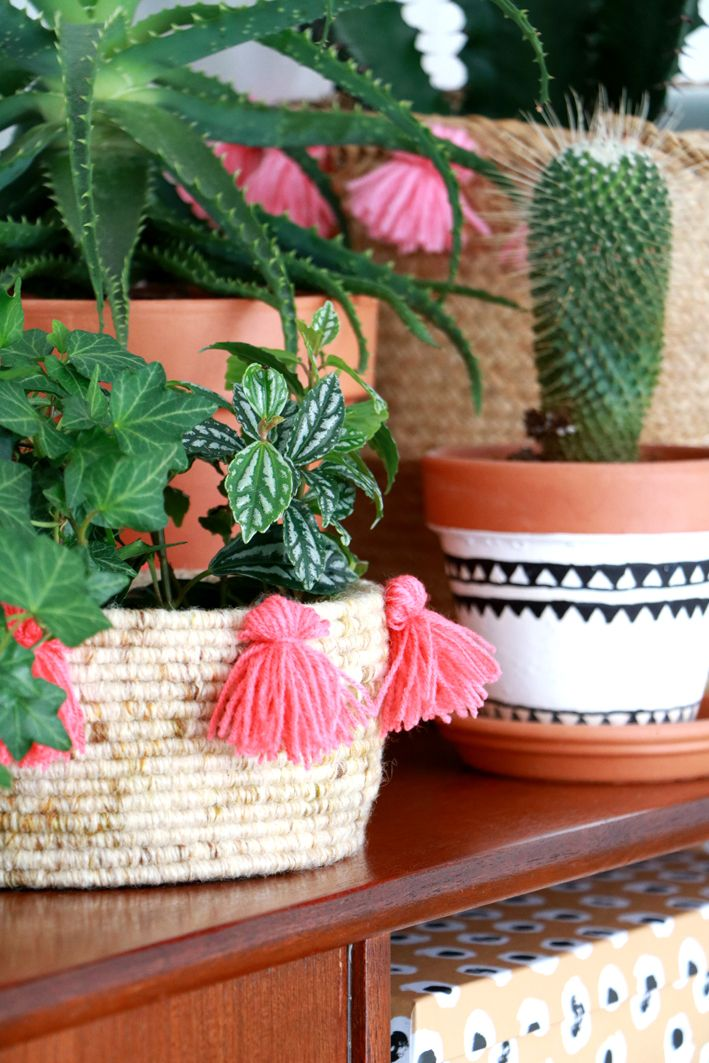 Diy Boho Baskets for vtwonen