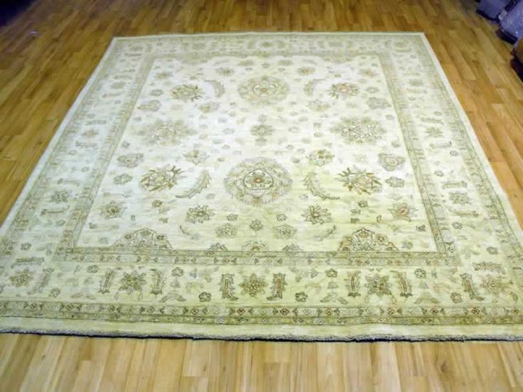 Fine Afghan Ziegler rug